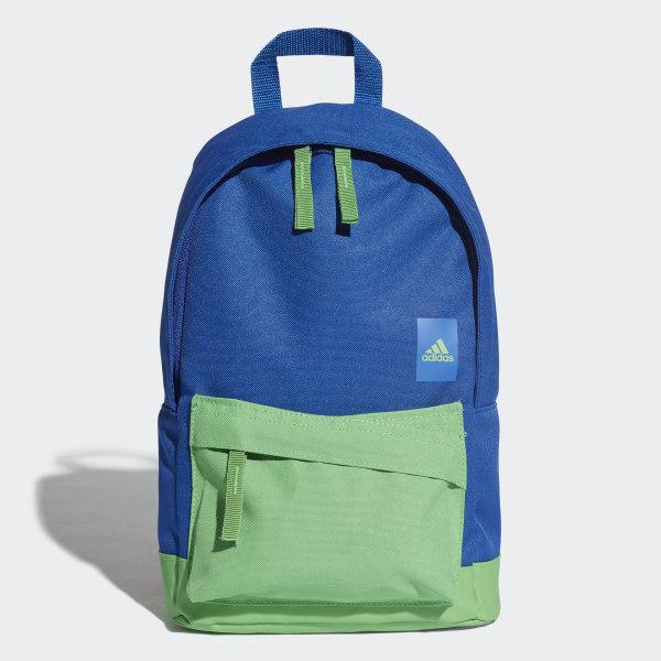 c604b20c0946 Adi Classic Backpack Extra Small collegiate royal   energy green   energy  green DJ2243