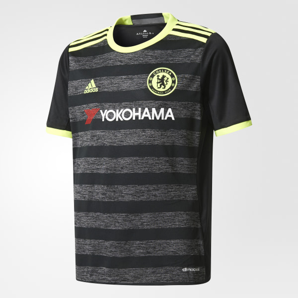 90a898b7b1 Chelsea FC Away Jersey Black   Solar Yellow   Granite AI7134