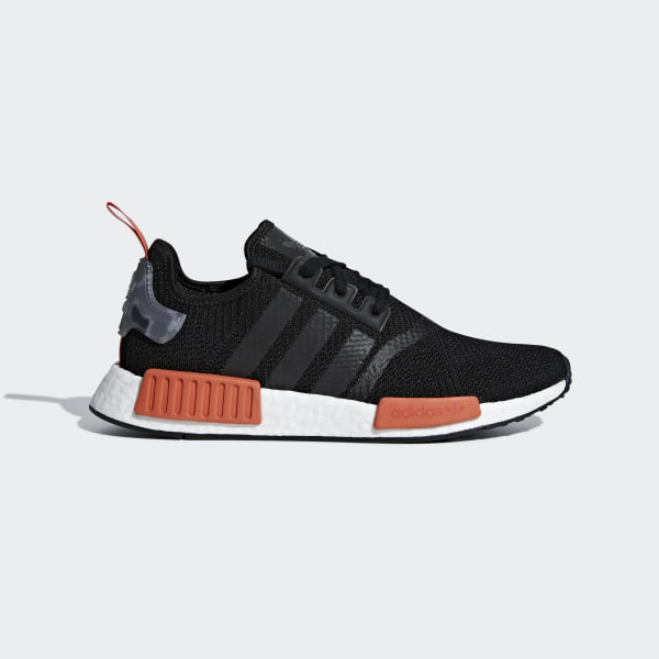 7437e3f06 NMD R1 Shoes Core Black   Core Black   Raw Amber AQ0882