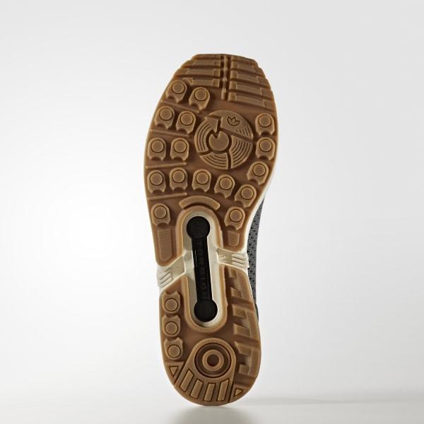 d99d88c7523e0 ZX Flux Primeknit Shoes Utility Ivy   Utility Ivy   Gum BA7373