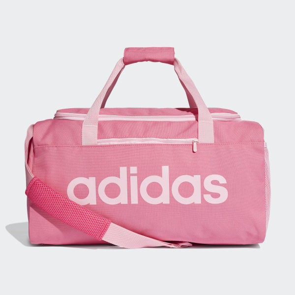 fb34ecefbd887 Bolsa de deporte pequeña Linear Core Semi Solar Pink   True Pink   True Pink  DT8624