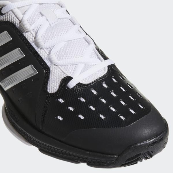 huge discount aa01a 7ed09 Barricade Classic Bounce Shoes Core Black  Silver Metallic  Cloud White  CG3108