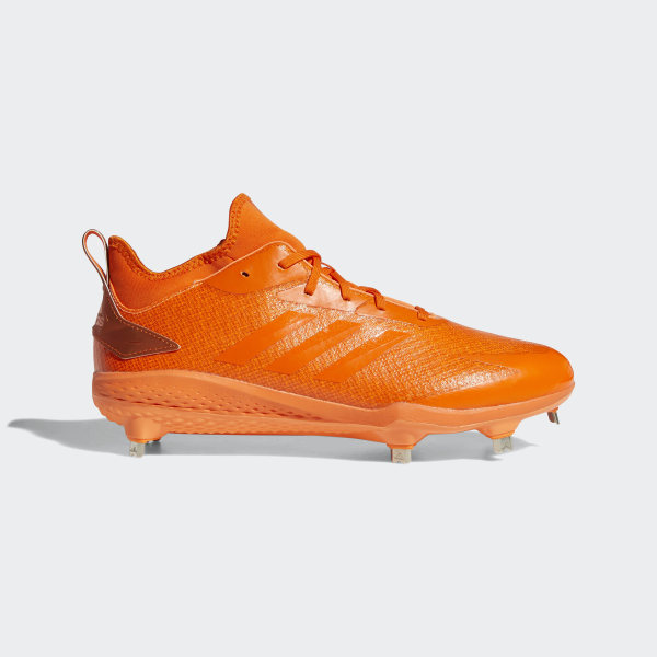 competitive price 71262 9466d Adizero Afterburner V Dipped Cleats Hi-Res Orange  Orange  Chalk Coral  AQ0092