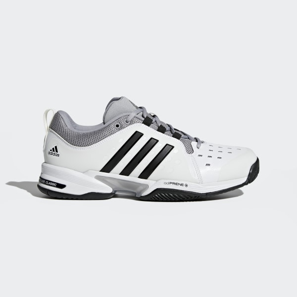 0988e258328d Barricade Classic Wide 4E Shoes Cloud White   Core Black   Mid Grey BY2920