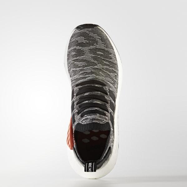 3b2c2b0bfd7cb NMD R2 Primeknit Shoes Core Black   Core Black   Cloud White BY9409