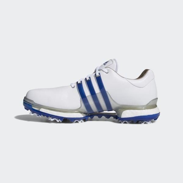 33228a57659 Tour 360 Boost 2.0 Shoes Cloud White   Collegiate Royal   Silver Metallic  F33626