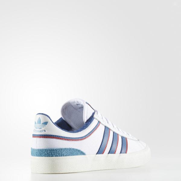 1793f54d25408b CAMPUS VULC X ALLTIMERS Footwear White Core Blue Scarlet CG5128