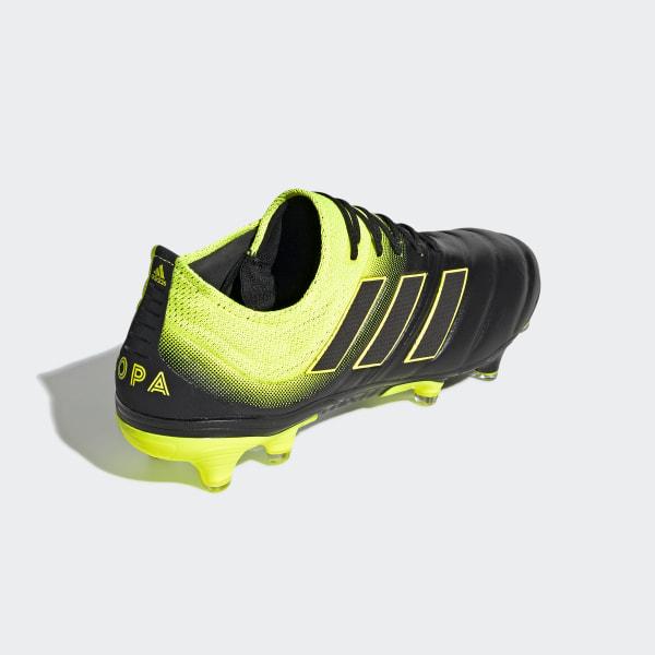 timeless design e1a6d 369b9 Scarpe da calcio Copa 19.1 Firm Ground Core Black  Solar Yellow  Core  Black BB8088
