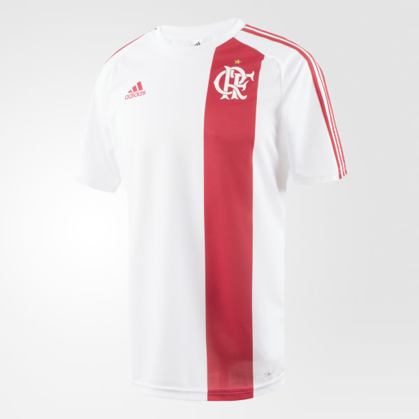 Camisa Flamengo 2 WHITE COLLEGIATE RED BK7112 0b69488c473e2