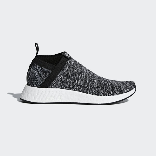 2633dbaab4b349 UA SONS NMD CS2 Primeknit Shoes Core Black   Core Black   Cloud White DA9089