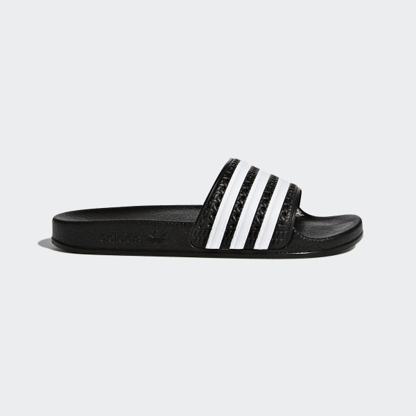 b7db40a6200768 adidas adilette Slides - Black