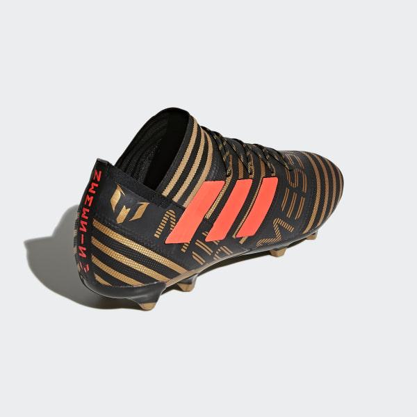 sale retailer 9d976 9cf41 Chaussure Nemeziz Messi 17.2 Terrain souple Core Black   Solar Red    Tactile Gold Met.