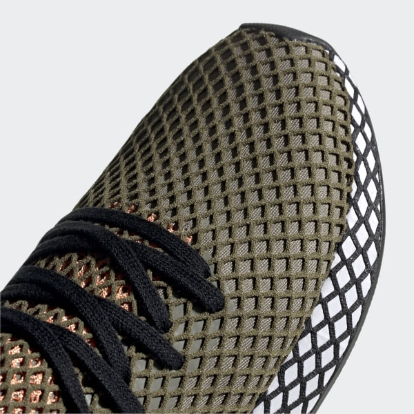 1f0d47b4188e87 Deerupt Runner Shoes Green   Core Black   Easy Orange BD7894