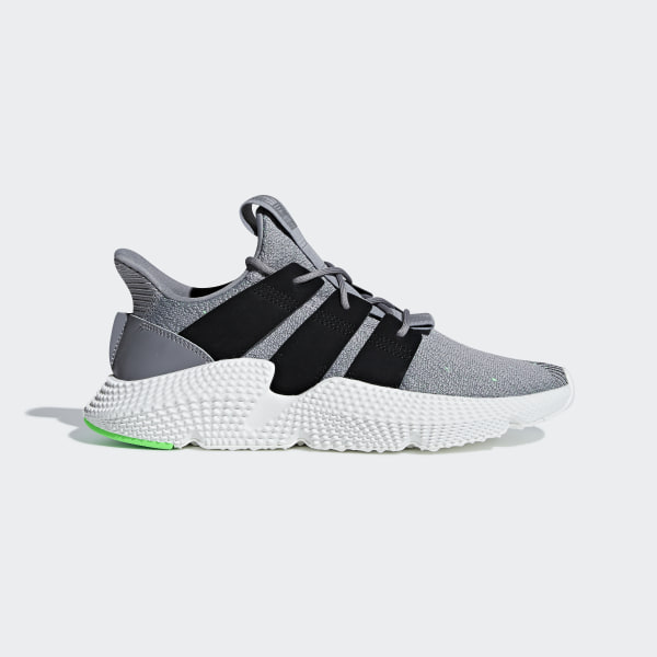 watch f4503 c0029 Prophere Shoes Grey Three  Core Black  Shock Lime B37464