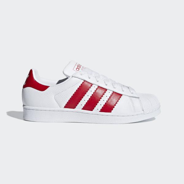 e9744dc046dc Superstar Shoes Ftwr White   Scarlet   Ftwr White BD7370