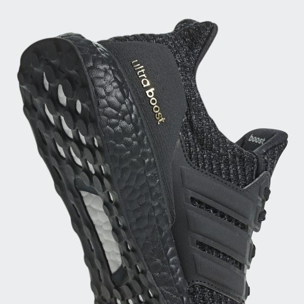 9a601a972e3a1 Ultraboost Shoes Core Black   Core Black   Gold Metallic F36123