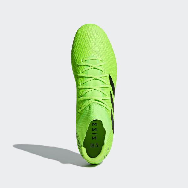 Botines Nemeziz Messi 18.3 Terreno Firme SOLAR GREEN CORE BLACK SOLAR GREEN  DB2113 191eb5dd642f9