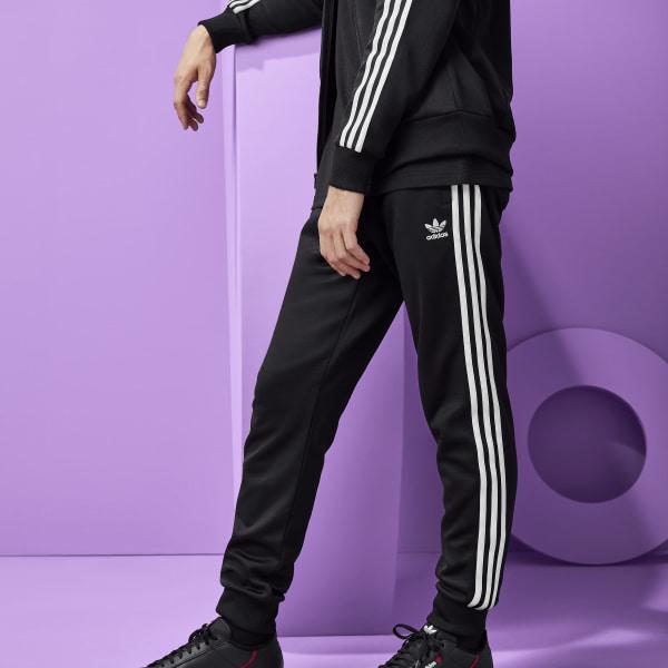 5aeb8541db27 adidas SST Track Pants - Black