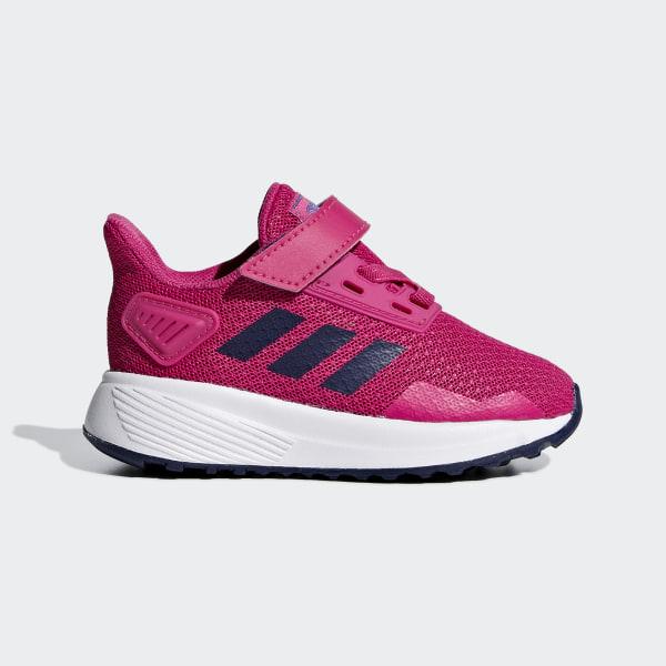 6b704d2479a659 Duramo 9 Shoes Pink   Real Magenta   Dark Blue F35108