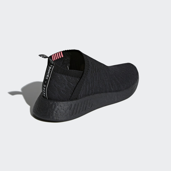 3350eb617ff9 NMD CS2 Primeknit Shoes Core Black   Carbon   Shock Pink CQ2373