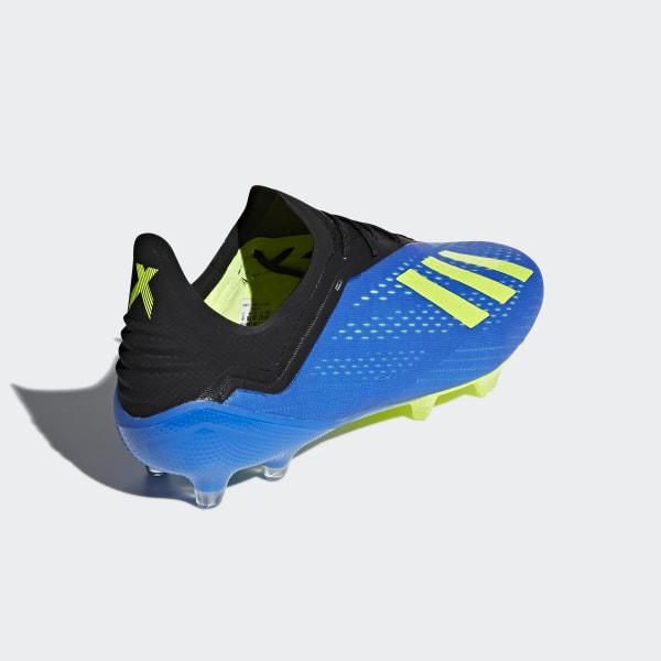 177eb3b35a6 Botines X 18.1 Terreno Firme FOOTBALL BLUE SOLAR YELLOW CORE BLACK CM8365