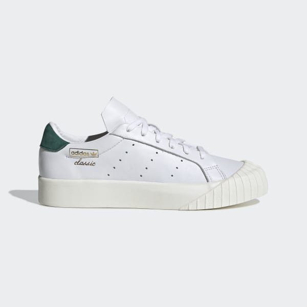 7c1f4ed58d6 Everyn Shoes Cloud White   Cloud White   Collegiate Green CG6076