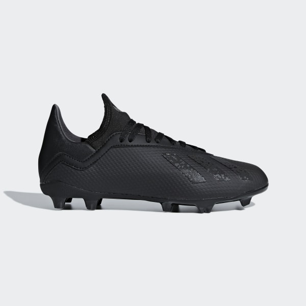 Scarpe da calcio X 18.3 Firm Ground Core Black / Core Black / Ftwr White  DB2437