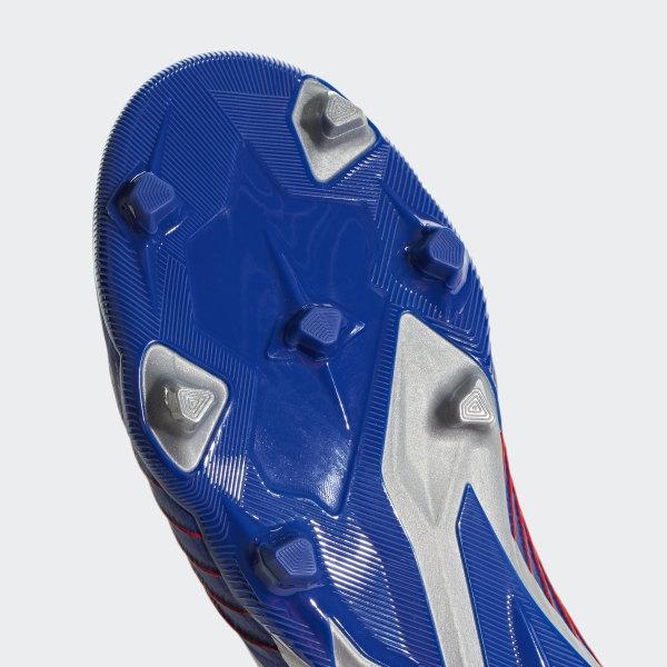 brand new 1358a 3584b Predator 19+ Firm Ground Cleats Bold Blue  Silver Metallic  Football Blue  CM8527