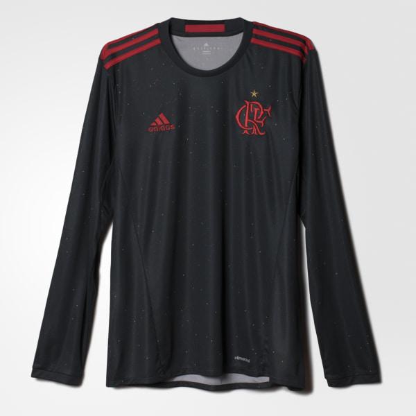 Camisa Flamengo Especial Manga Longa DARK GREY RED AI7782 ba309d2bade1f