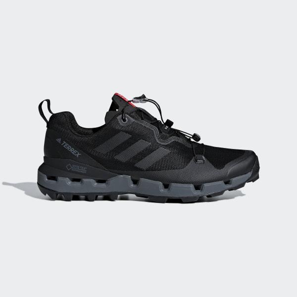 84491ce9c Terrex Fast GTX Surround Shoes Core Black   Grey Five   Hi-Res Red AQ0365