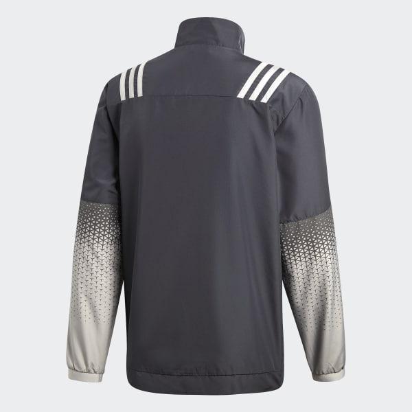 a1df1bb287 All Blacks Presentation Jacket Dgh Solid Grey Mgh Solid Grey White B30655