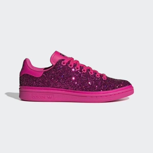 17c9c65dac7 Stan Smith Shoes Shock Pink   Shock Pink   Collegiate Purple BD8058