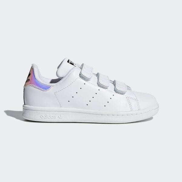 Stan Smith Shoes White Metallic Silver White AQ6273 6c3939fd0