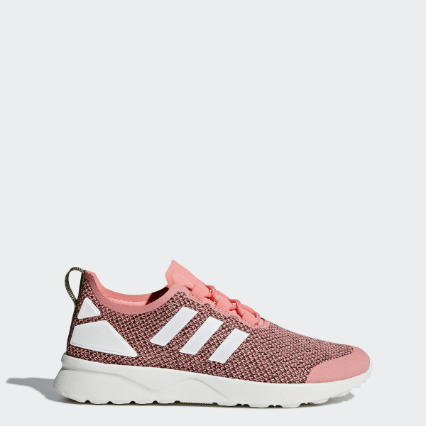sports shoes eb2fc 4c363 Zapatillas Originals ZX FLUX ADV VERVE Mujer OLIVE CARGO CORE WHITE RAY  PINK S75981