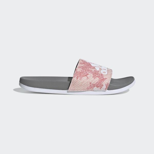 2cd7c06291e Adilette Comfort Slides Dust Pink   Ftwr White   Grey Three G28927