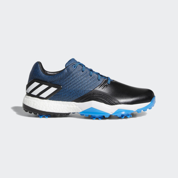 brand new 73af0 c1b91 Adipower 4orged Shoes Bright Blue  Core Black  Shock Yellow DA9318