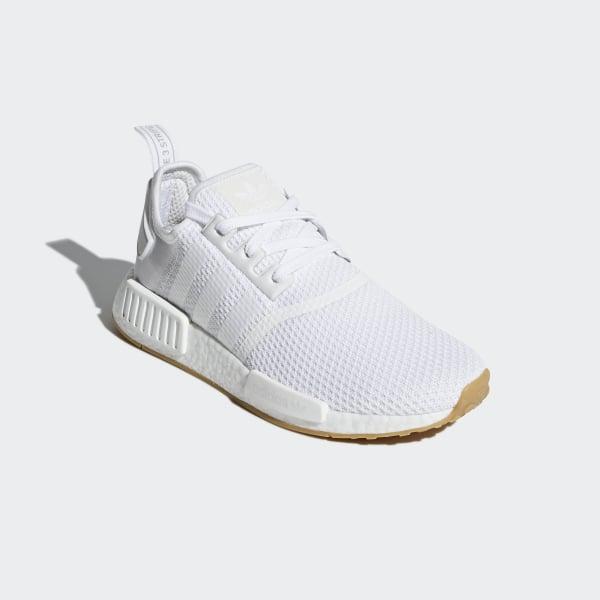 82ea69092 NMD R1 Shoes Ftwr White   Ftwr White   Gum 3 D96635