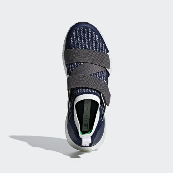 819ff011ca9 Ultraboost X Shoes Night Indigo   Granite   Vivid Green BC0308