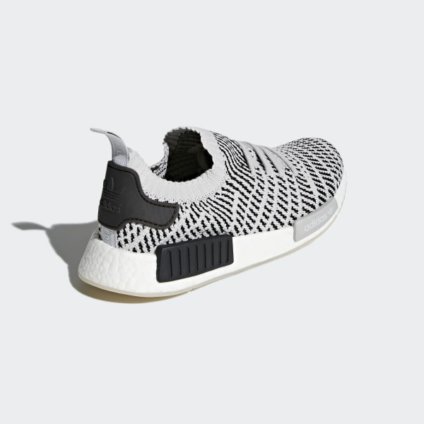 size 40 994ff 52468 Scarpe NMD R1 STLT Primeknit Grey Two   Grey One   Core Black CQ2387