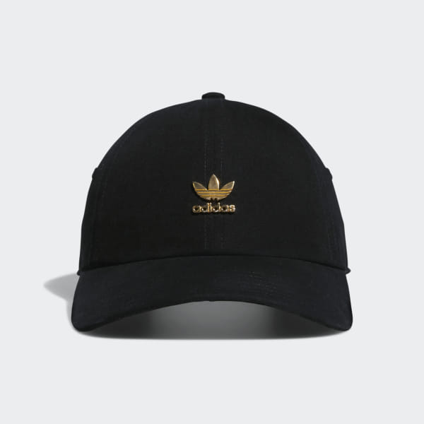 a203255f06c6 adidas Relaxed Metal Strap-Back Hat - Black