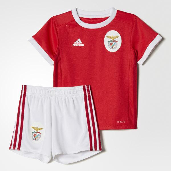 Miniconjunto primera equipación Benfica Benfica Red White B31008 772001203ed22