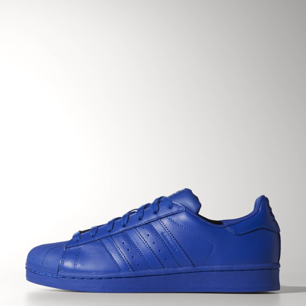 newest 5a46d e0438 Zapatillas Superstar 80s Pharrell Supercolor BOLD BLUE BOLD BLUE BOLD BLUE  S41814