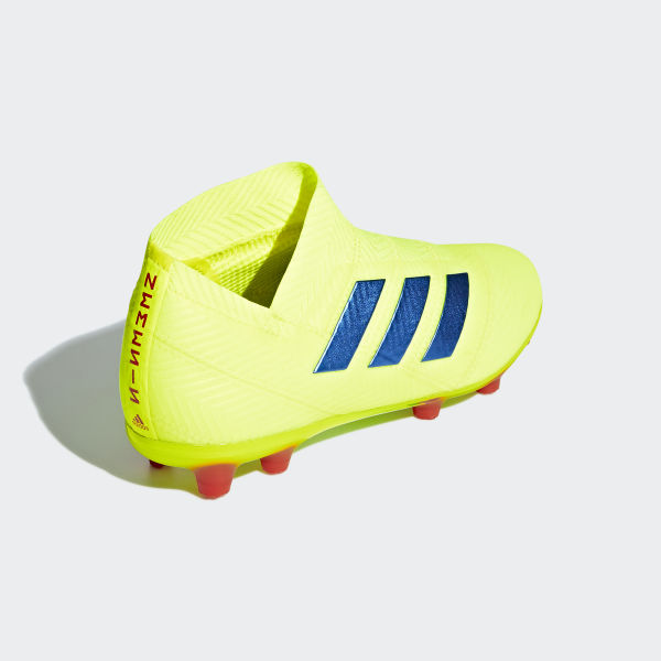 ba1db6c6da76c Scarpe da calcio Nemeziz 18+ Firm Ground Solar Yellow   Football Blue   Active  Red