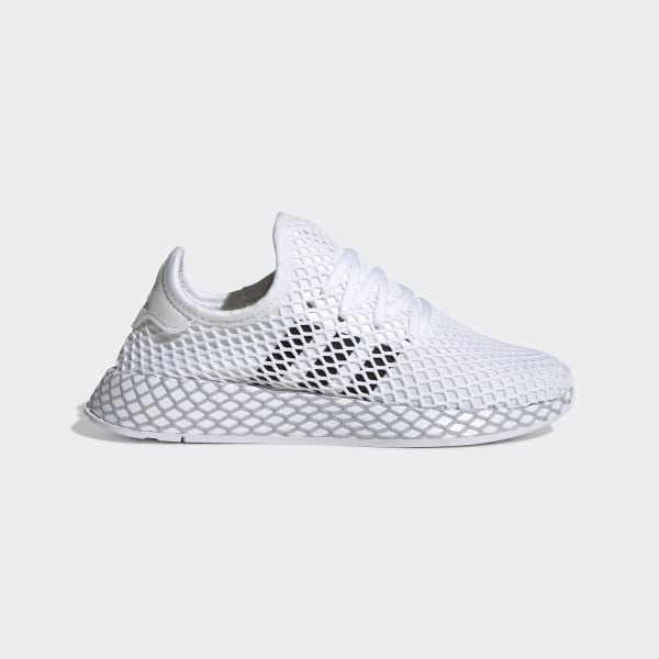 5eac77155d1 Zapatilla Deerupt Runner Ftwr White   Core Black   Grey Two F34295