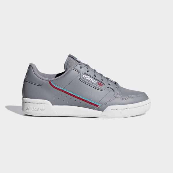 0bbab9cdb44f Continental 80 Shoes Grey   Hi-Res Aqua   Scarlet F99784