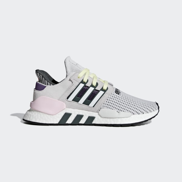 buy online 4ba04 d1cbe Tenis EQT SUPPORT 91-18 W grey one f17  ftwr white  clear pink