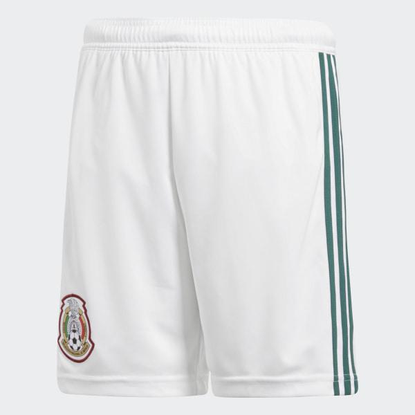09d88c7d9147f Shorts Oficial Selección de México Local Niño 2018 WHITE COLLEGIATE GREEN  BQ4656