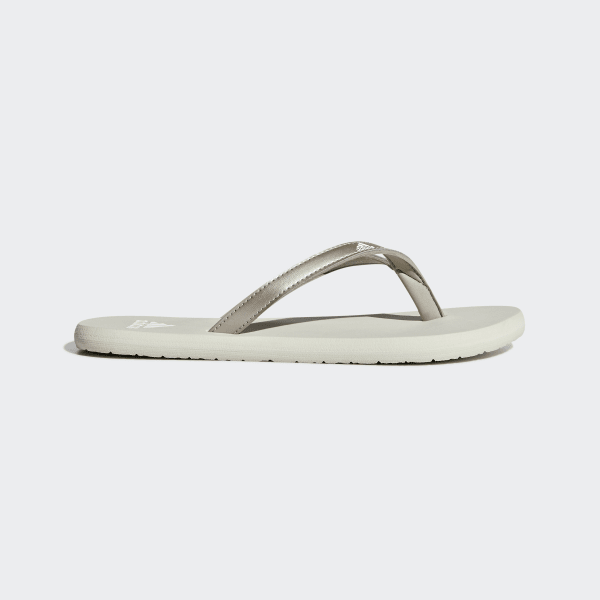 the latest bd7ce 9c281 Eezay Flip-Flops Platin Met.  Ftwr White  Raw White F35034