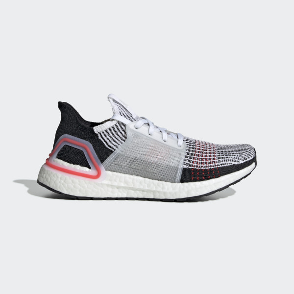 afa8fd57367 Tênis Ultraboost 19 Ftwr White   Core Black   Grey Six F35282