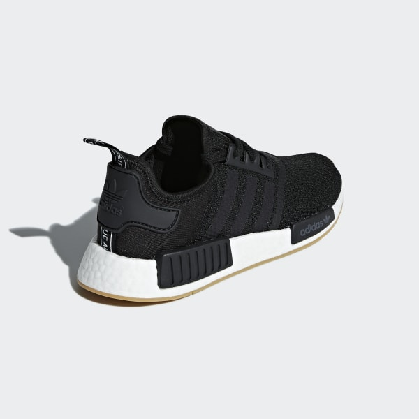 NMD R1 Shoes Core Black   Core Black   Gum 3 B42200 2f1a202c2